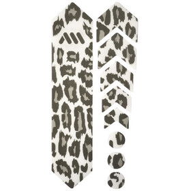 All Mountain Style Basic Frame Protection Kit 9 Pieces, clear/cheetah